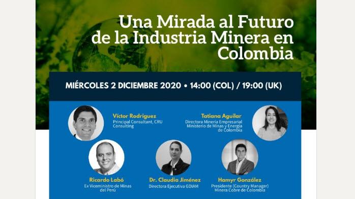Webinar | Una mirada al futuro de la industria minera en Colombia