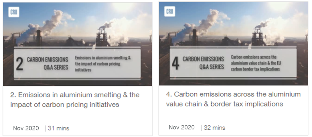 CRU Global Carbon Emissions Services